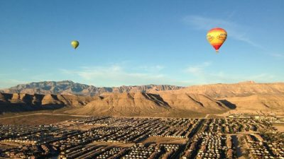 Hot Air Baloon Ride from Las Vegas